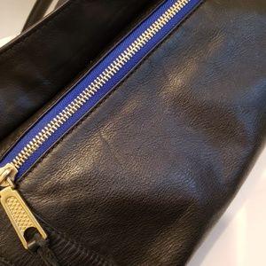 Rebecca Minkoff Bags - Rebecca Minkoff navy blue satchel